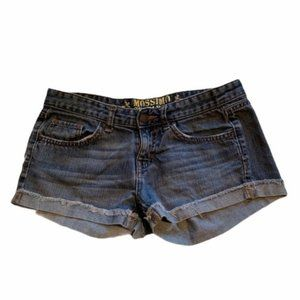 Mossimo Supply Co. Denim Shorts Cuffed Fit 6